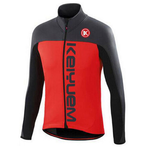Long Sleeve Cycle Jersey Men/'s Bike Bicycle Cycling Shirts Top Black-Red S-5XL
