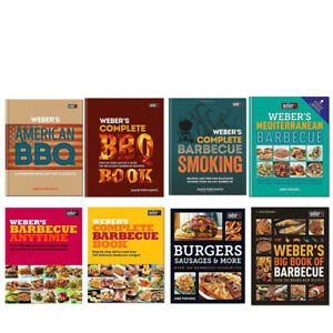 Jamie-Purviance-Weber-039-s-American-Barbecue-Complete-BBQ-Smoking-Recipes-New-Book