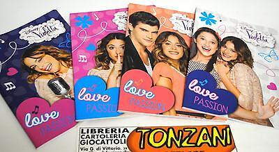 """scuola originale  Disney serie /""""music/"""" VIOLETTA  Astuccio pochette"""