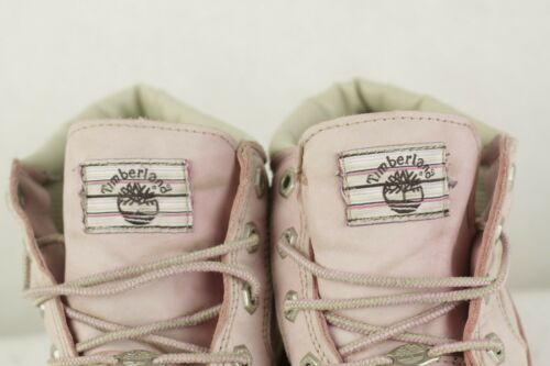 Stivali Pink Timberland Very Uk Ups donna P83 Buck Good 5 8 Baby pelle Nu da Lace in r8qSwAr