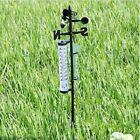 Garden Outdoor Weather Station Meteorological Measurer Vane Tool Wind Rain Gauge