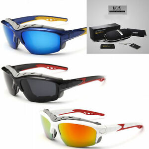 0b8f01e91bc5 Image is loading Polarized-Wind-Resistant-Sunglasses-Sports-Motorcycle- Riding-Glasses-