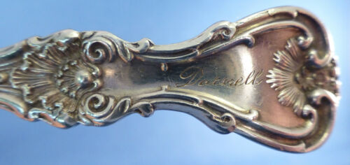 KING EDWARD BY WHITING STERLING LONG ICED TEA SPOON S