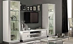 ... Luxus Wohnzimmer Roma Weiss Modernes Design Stilmoebel Aus
