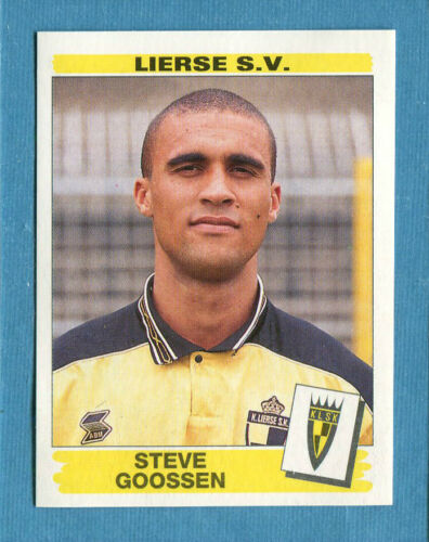 Figurina-Sticker n 206 S GOOSSEN-LIERSE-New FOOTBALL 96 BELGIO Panini