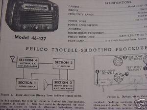 image is loading 1919-1953-philco-radio-service-manual-cd-huge