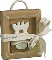 Sophie The Giraffe So Pure Baby Teether ring in Gift Box
