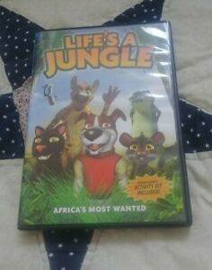 Lifes-a-Jungle-Africas-Most-Wanted-DVD-2012-Canadian