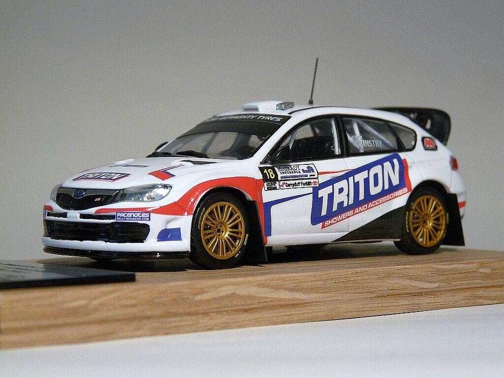 Subaru impreza wrc kenny McKinstry gaffin Bishopscourt rally 2013 code 3 diecas