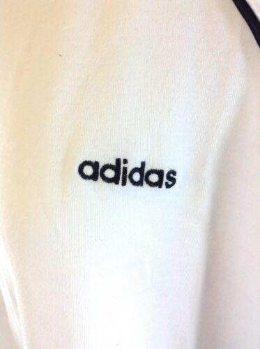 para manga camiseta 100 Ss Adidas de algod blanca mujer Nueva Top Satin 958971 corta xa1wzz5f