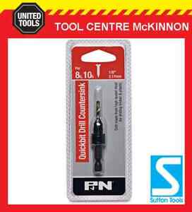 P-amp-N-BY-SUTTON-TOOLS-1-8-SCREW-PILOT-DRILL-COUNTERSINK-BIT-FOR-8G-amp-10G-SCREWS