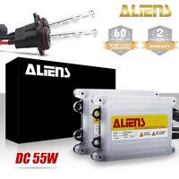 35W/55W 9006 HID Xenon Headlight & Fog Light Bulbs Conversion Kit Slim Ballast