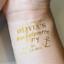 Custom-Bachelorette-Party-Golden-Tattoos-Hen-night-temp-tattoos-Team-Bride-Hen thumbnail 24