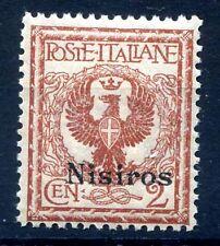 ISOLE EGEO  NISIRO  1912 -  Centesimi   2    NUOVO **