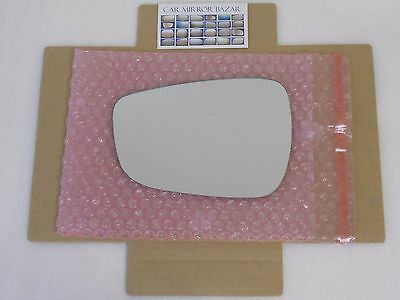NEW fit 2007-2010 Elantra Driver side Left LH Side Replacement Mirror Glass#4156