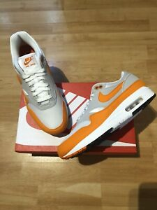 Air Max 1 Anniversary Magma Orange Uk9 Us10 Ebay