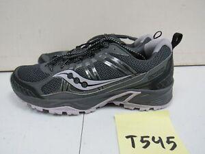 Women-039-s-Saucony-Escape-TR4-Running-Shoes-Gray-Purple-Sz-9M-T545