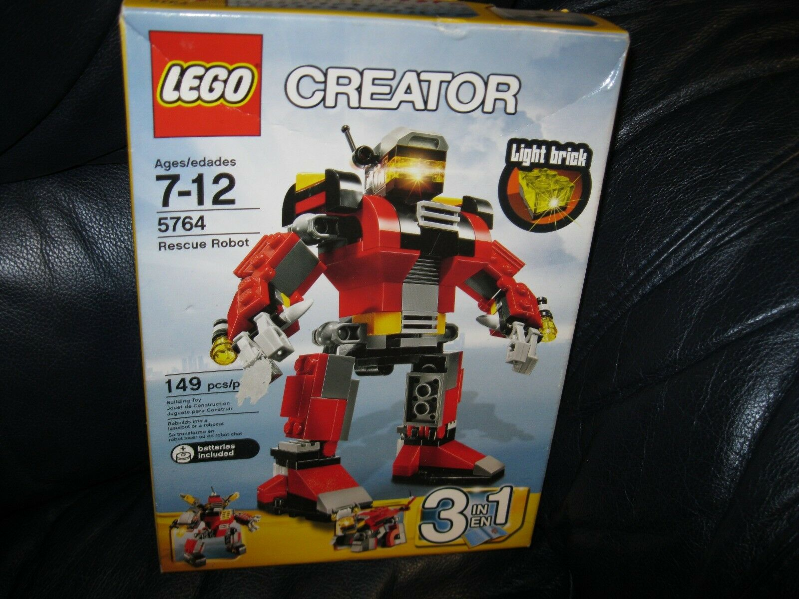 LEGO 4610932 Creator 3 IN 1 Rescue Robot 5764 NEW