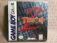 Turok 2 Seeds Of Evil Gbc Game Boy Color Gbc Sealed