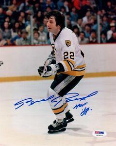 cheap for discount 6f807 ff9e7 Details about Brad Park SIGNED 8x10 Photo + HOF 88 Boston Bruins PSA/DNA  AUTOGRAPHED