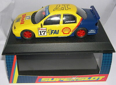 Alert Bestellung H2090 Ford Mondeo Shell #17 Johnson Scalextric Uk Mb Spielzeug