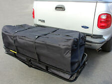 """58"""" Large Cargo Carrier Bag Truck Hitch/Roof Top Rack Luggage Weather-Resistant"""
