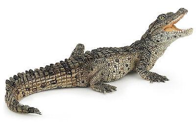 Papo 50137 Baby Crocodile Wild Reptile Animal Figurine Model Toy Gift - NIP