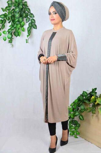 A-3752 Tesettür Tunik+Bone-Tunika Hijab-Abaya-Mit Kopftuch