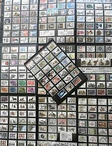 1971-81 GB COMMEMORATIVE STAMPS Almost Complete COLLECTION majority VFU Ref:QGq1