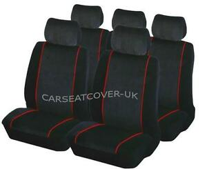 Heavy Duty Black Waterproof Seat Covers//Protectors AUDI A5 SPORTBACK ALL YEARS