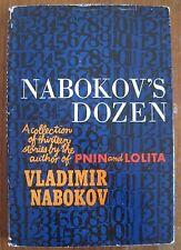 Vladimir Nabokov Nabokov's Dozen 1st First Edition HCDJ 1958 Pnin Lolita