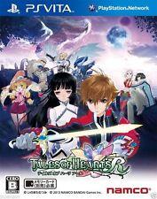 Tales of Hearts R PS Vita SONY JAPANESE NEW JAPANZON