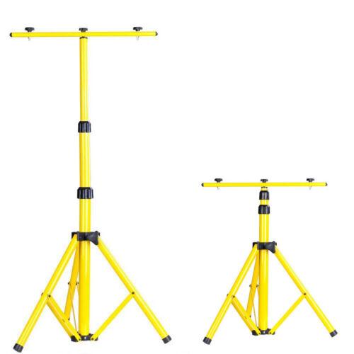 Ständer Teleskop Stativ Für 2 Halogenstrahler LED Fluter Strahler Scheinwerfer