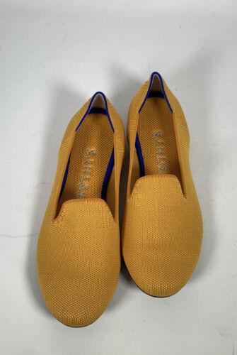 Rothys Lemondrop Yellow Loafers Sz.8 RETIRED