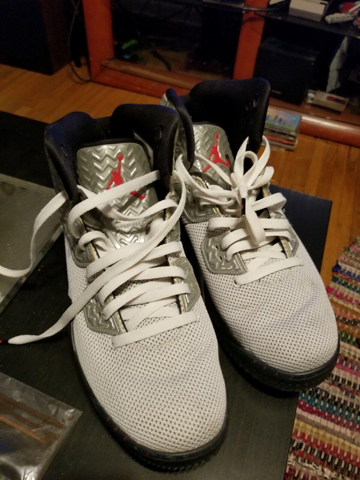 nike air jordan jordan jordan spike 40 pe bianco argento 807541-101 scarpe da basket sz 11,5 a9edbe