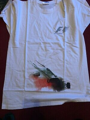 Formula One 1 GP Masters F1 NEW T-Shirt Drivers Size Large