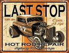 Last Stop Rods Vintage Style Metal Signs Man Cave Garage Decor 69