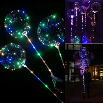 "UK 30 LED String Light 18/"" Balloon Christmas Home Garden Wedding Party Decors"