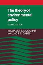 The Theory of Environmental Policy by Wallace E. Oates and William J. Baumol...