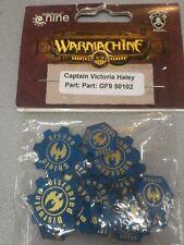 WARMACHINE - CAPTAIN VICTORIA HALEY - GALE FORCE NINE GF9 50102