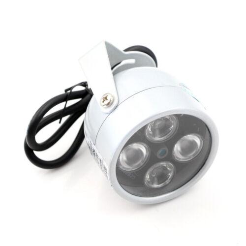 4 Array IR LED Illuminator Light Infrared Night Vision CCTV Fill Light CameraDDE