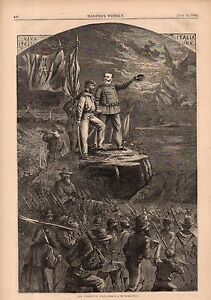 1866-Harpers-Weekly-Print-Uprising-of-Italy-with-Garibaldi-leading-the-way-Nast
