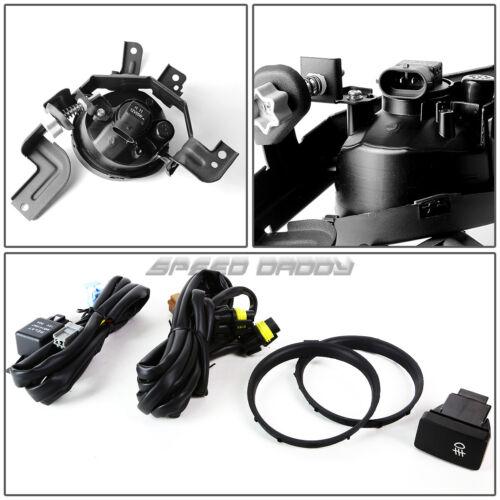 FOR 07-09 HONDA CRV LX//EX//SPORT RE CLEAR LENS OE DRIVING FOG LIGHT LAMP+SWITCH