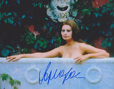 Sophia Loren Hand Signed 8x10 Photo, Autograph Two Women Houseboat Film Legend B