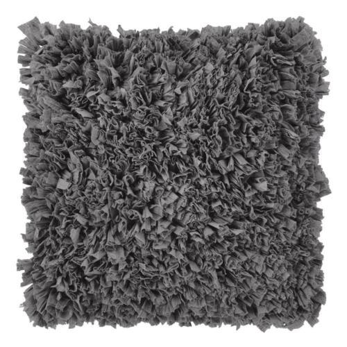 Dutch Decor 30/% 70/% polyester Kissenhülle Romano 45x45 cm dunkelgrau