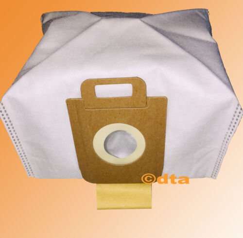 NILFISK VACUUM BAGS x4 GM200-GM500 EXTREME P40 3D SYNTHETIC