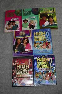 High School Musical bundle  5 books and 2 dvds - <span itemprop=availableAtOrFrom>Newquay, United Kingdom</span> - High School Musical bundle  5 books and 2 dvds - Newquay, United Kingdom
