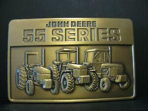 * 1987 John Deere 2955 2755 2155 55 Series Tractor Belt Buckle jd 3155 2855 2555