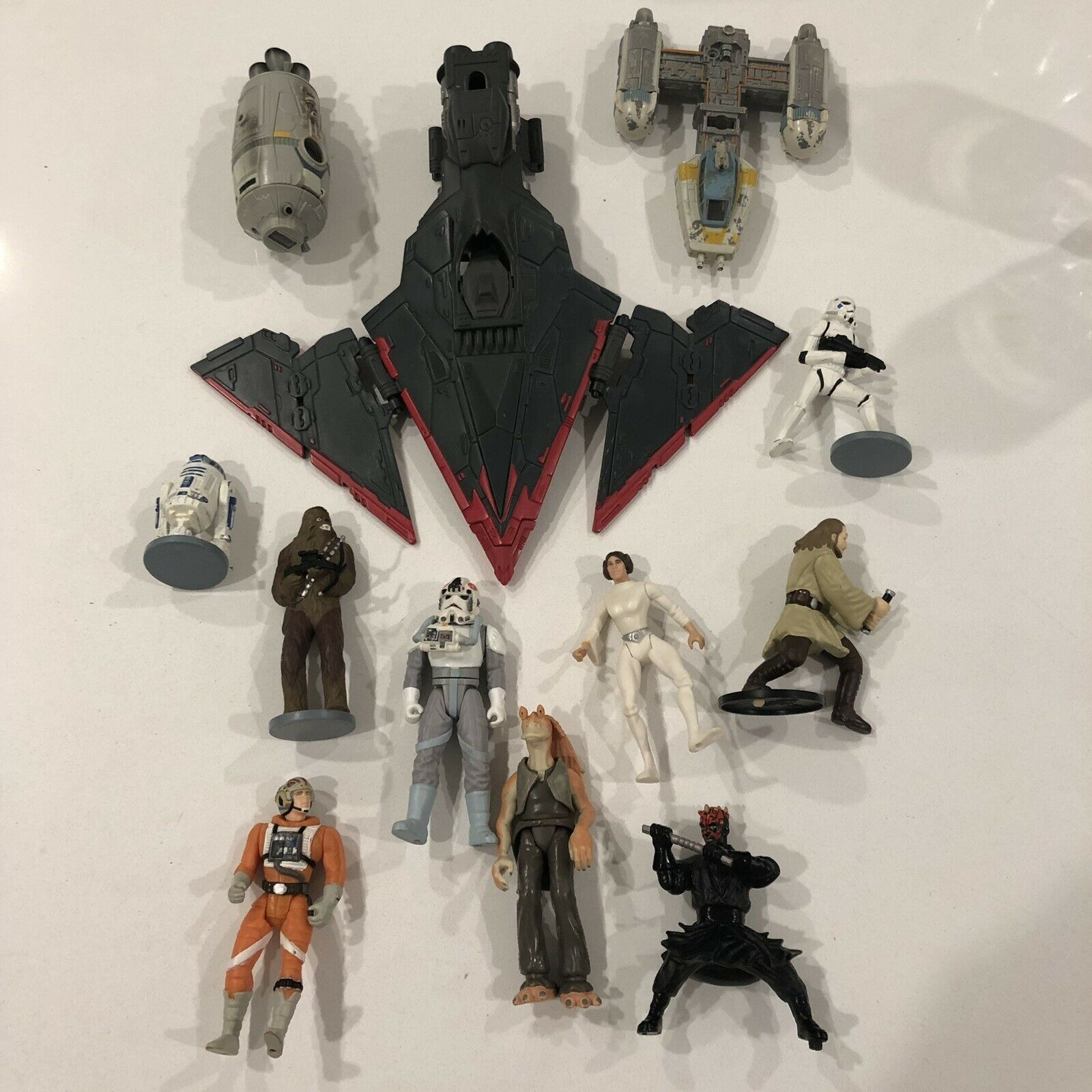 Star Wars Action Figure Toys From 1990s