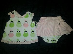 BNWT-Sooki-Baby-I-Love-Pear-Outfit-Size-00